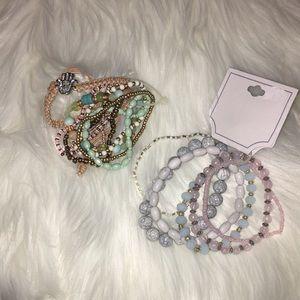 Lot of brand new bracelets